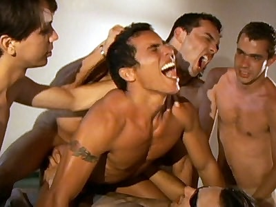 Groupsex Gays gay group sex video